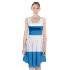 Flag Of Canton Of Lucerne Racerback Midi Dress