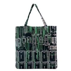 Printed Circuit Board Circuits Grocery Tote Bag