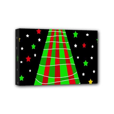 Xmas tree  Mini Canvas 6  x 4
