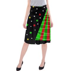 Xmas tree  Midi Beach Skirt