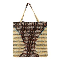 Rope Fabric Canvas Color Lana Grocery Tote Bag