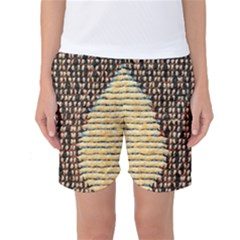 Rope Fabric Canvas Color Lana Women s Basketball Shorts