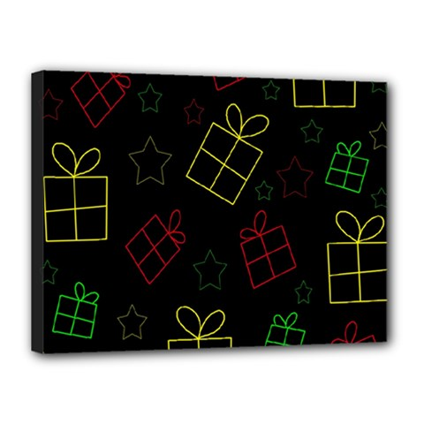 Xmas gifts Canvas 16  x 12