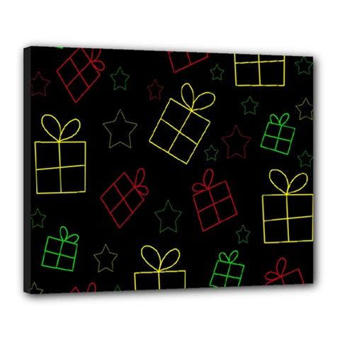 Xmas gifts Canvas 20  x 16