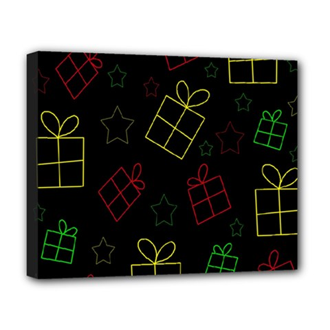 Xmas gifts Deluxe Canvas 20  x 16