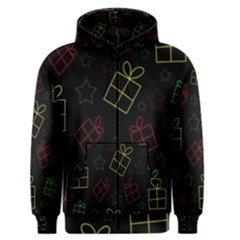 Xmas gifts Men s Zipper Hoodie