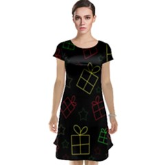 Xmas gifts Cap Sleeve Nightdress
