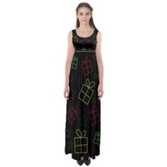 Xmas gifts Empire Waist Maxi Dress