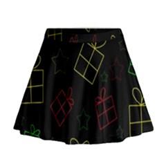 Xmas gifts Mini Flare Skirt