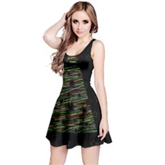 Xmas tree 2 Reversible Sleeveless Dress