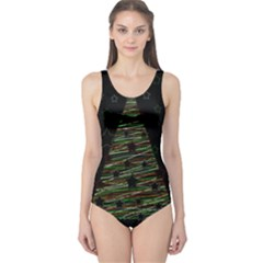 Xmas tree 2 One Piece Swimsuit