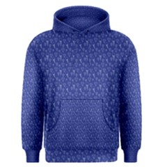 Diamonds and Icecream On Blue Men s Pullover Hoodie