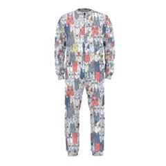 Cats Family  Onepiece Jumpsuit (kids)