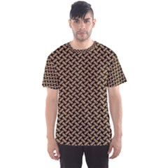 Texture Natural Intertwined Men s Sport Mesh Tee