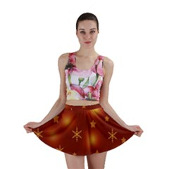 Xmas design Mini Skirt