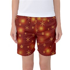 Xmas design Women s Basketball Shorts