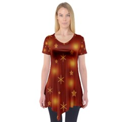 Xmas design Short Sleeve Tunic