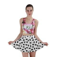Black Cats  Mini Skirt