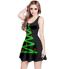 Simple Xmas tree Reversible Sleeveless Dress