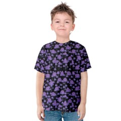 Palm Trees Motif Pattern Kids  Cotton Tee