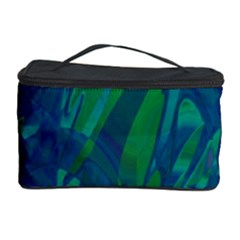 Green and blue design Cosmetic Storage Case