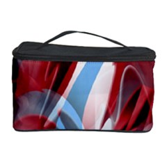 Blue and red smoke Cosmetic Storage Case