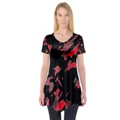 Painter was here  Short Sleeve Tunic