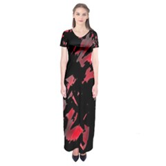 Painter was here  Short Sleeve Maxi Dress