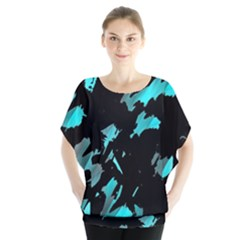 Painter was here - cyan Blouse