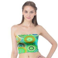 Funky Flowers A Tube Top