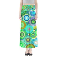 Funky Flowers A Maxi Skirts