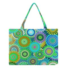 Funky Flowers A Medium Tote Bag
