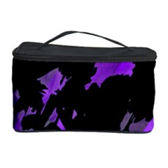 Painter was here - purple Cosmetic Storage Case