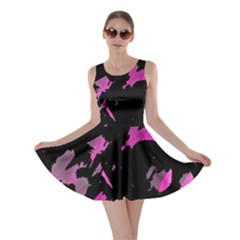 Painter was here - magenta Skater Dress