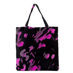 Painter was here - magenta Grocery Tote Bag