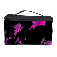 Painter was here - magenta Cosmetic Storage Case