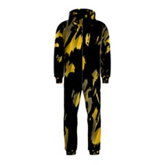 Painter was here - yellow Hooded Jumpsuit (Kids)