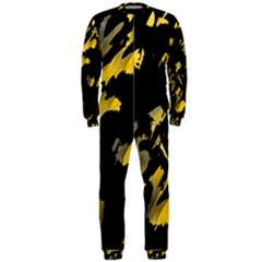 Painter was here - yellow OnePiece Jumpsuit (Men)