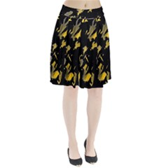 Painter was here - yellow Pleated Skirt