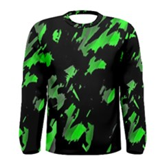 Painter was here - green Men s Long Sleeve Tee