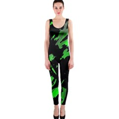 Painter was here - green OnePiece Catsuit