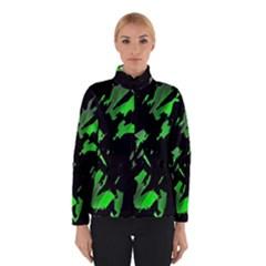 Painter was here - green Winterwear