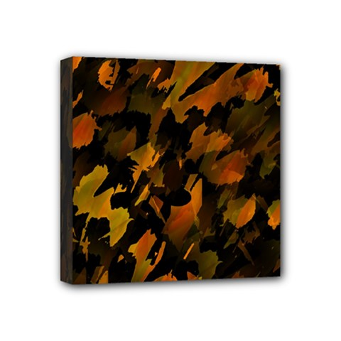 Abstract Autumn  Mini Canvas 4  x 4