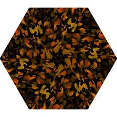 Abstract Autumn  Mini Folding Umbrellas