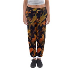 Abstract Autumn  Women s Jogger Sweatpants