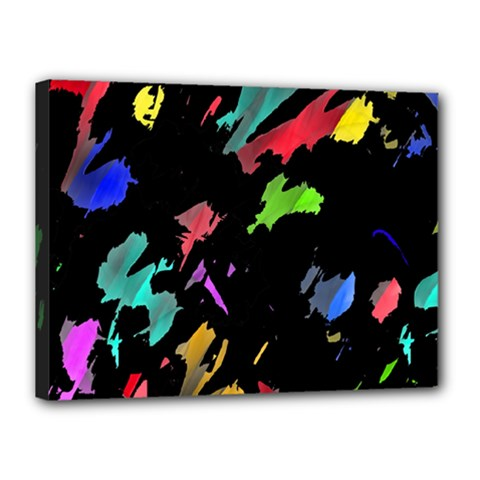 Painter was here Canvas 16  x 12