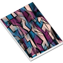 Purple high art Large Memo Pads