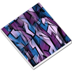 Purple decorative abstract art Small Memo Pads