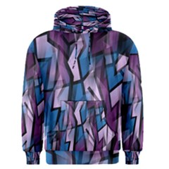Purple decorative abstract art Men s Pullover Hoodie