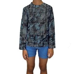 Blue town Kids  Long Sleeve Swimwear